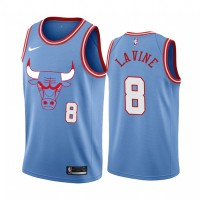 Zach Lavine Chicago Bulls 2019-20 City Edition Jersey