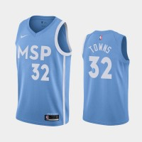 Karl Anthony Towns Minnesota Timberwolves 2019-20 City Edition Jersey