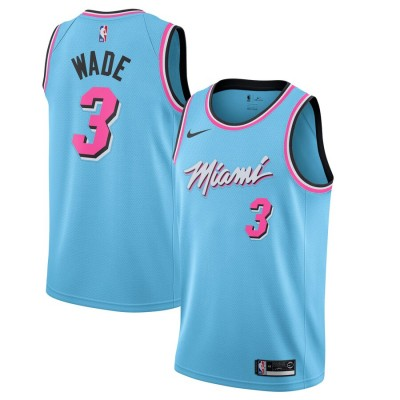 Dwyane Wade Miami Heat  2019-20 City Edition Jersey