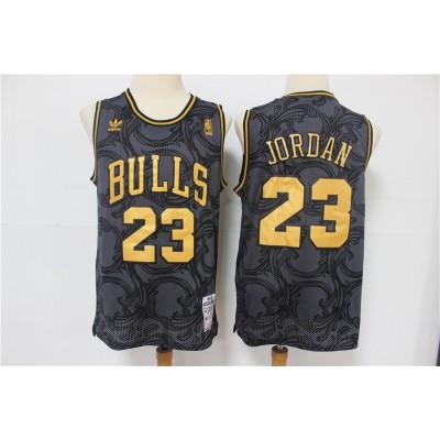 *Michael Jordan Chicago Bulls Vintage Black and Gold Edition