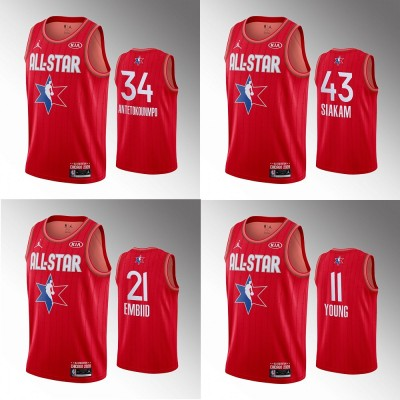 **Team Giannis 2020 All Star Game Jerseys