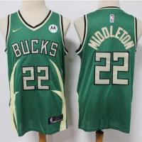 Khris Middleton Milwaukee Bucks 2020-21 Earned Edition Jersey