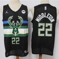 Khris Middleton Milwaukee Bucks 2020-21 Statement Jersey
