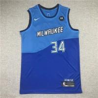 Giannis Antetokounmpo Milwaukee Bucks 2020-21 City Edition Jersey