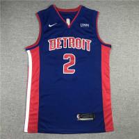 Cade Cunningham Detroit Pistons Blue Jersey