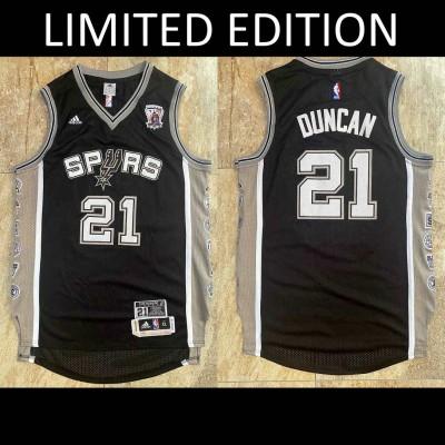 *Tim Duncan San Antonio Spurs Limited Edition Retirement Edition - Super AAA
