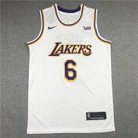 *LeBron James Los Angeles Lakers 2021-22 White Jersey