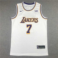 *Carmelo Anthony Los Angeles Lakers 2021-22 White Jersey