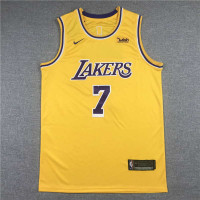 *Carmelo Anthony Los Angeles Lakers 2021-22 Yellow Jersey