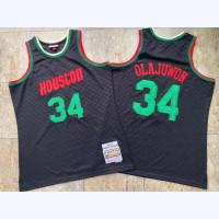 *Neapolitan Series - Hakeem Olajuwon Houston Rockets Mitchell & Ness Jersey - Super AAA