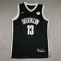 James Harden Brooklyn Nets Black Jersey