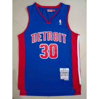 Rasheed Wallace Detroit Pistons 2003-04 Blue Jersey