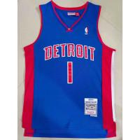 Chauncey Billups Detroit Pistons 2003-04 Blue Jersey