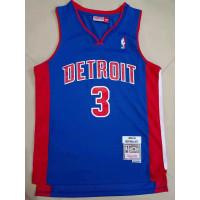 Ben Wallace Detroit Pistons 2003-04 Blue Jersey