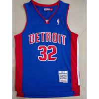 Richard Hamilton Detroit Pistons 2003-04 Blue Jersey