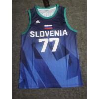 *Luka Dončić Slovenia Tokyo 2020 Olympics Blue Jersey