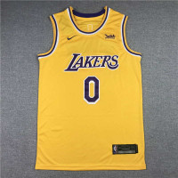 *Russell Westbrook Los Angeles Lakers 2021-22 Yellow Jersey