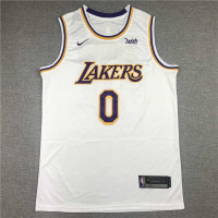*Russell Westbrook Los Angeles Lakers 2021-22 White Jersey