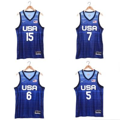 **Team USA Tokyo 2020 Olympics Blue Jersey