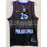 *Ben Simmons Philadelphia 76ers 2020-21 City Edition Jersey