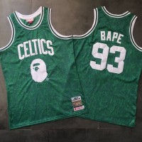 BAPE X Mitchell & Ness Special Edition Boston Celtics Jersey - Super AAA Version
