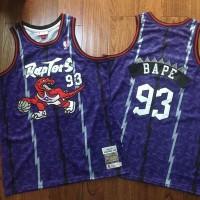 BAPE X Mitchell & Ness Special Edition Toronto Raptors Jersey - Super AAA Version
