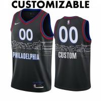 *Philadelphia 76ers 2020-21 City Edition Customizable Jersey