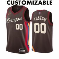 *Portland Trail Blazers 2020-21 City Edition Customizable Jersey