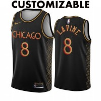 *Chicago Bulls 2020-21 City Edition Customizable Jersey
