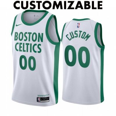 *Boston Celtics 2020-21 City Edition Customizable Jersey