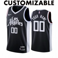 *Los Angeles Clippers 2020-21 City Edition Customizable Jersey