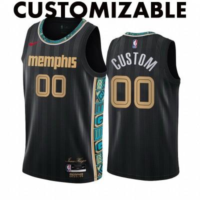 *Memphis Grizzlies 2020-21 City Edition Customizable Jersey