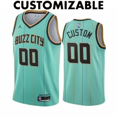*Charlotte Hornets 2020-21 City Edition Customizable Jersey