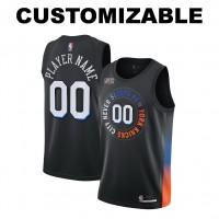 New York Knicks 2020-21 City Edition Customizable Jersey