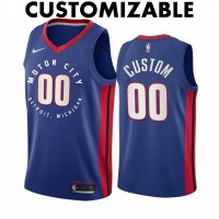 *Detroit Pistons 2020-21 City Edition Customizable Jersey