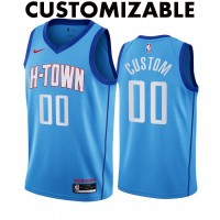*Houston Rockets 2020-21 City Edition Customizable Jersey