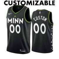 *Minnesota Timberwolves 2020-21 City Edition Customizable Jersey
