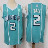 *LaMelo Ball Charlotte Hornets 2020-21 Teal Jersey
