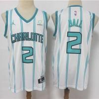 *LaMelo Ball Charlotte Hornets 2020-21 White Jersey