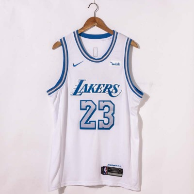 *LeBron James 2020-21 Los Angeles Lakers City Edition Jersey