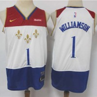 *Zion Williamson New Orleans Pelicans 2020-21 City Edition Jersey
