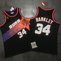 Charles Barkley Mitchell & Ness Phoenix Suns 1992-93 Black Jersey - Super AAA