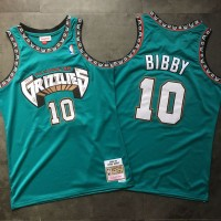 Mike Bibby Mitchell & Ness Vancouver Grizzlies 1998-99 Rookie Season Teal Jersey - Super AAA