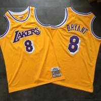 Kobe Bryant Mitchell & Ness Los Angeles Lakers 1996-97 Rookie Season Jersey - Super AAA