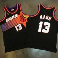 Steve Nash Mitchell & Ness Phoenix Suns 1996-97 Rookie Season Black Jersey - Super AAA