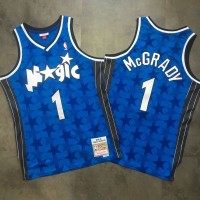 Tracy McGrady Mitchell & Ness Orlando Magic 2000-01 Stars Jersey - Super AAA