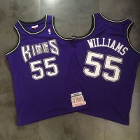 Jason Williams Mitchell & Ness Sacramento Kings 1998-99 Rookie Season Purple Jersey - Super AAA