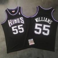 Jason Williams Mitchell & Ness Sacramento Kings 1998-99 Rookie Season Black Jersey - Super AAA
