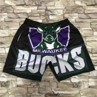 Milwaukee Bucks M&N Big Face Shorts