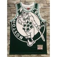 Boston Celtics M&N Big Face Jersey